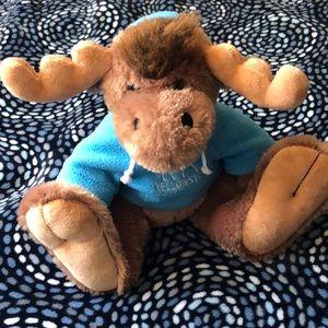 Yellow Stone moose stuffed animal